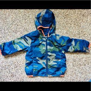 Gap camo rain jacket